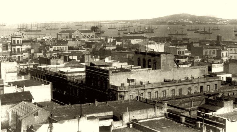 Cerro_de_Montevideo_desde_la_ciudad._Año_1865_(no_watermark)